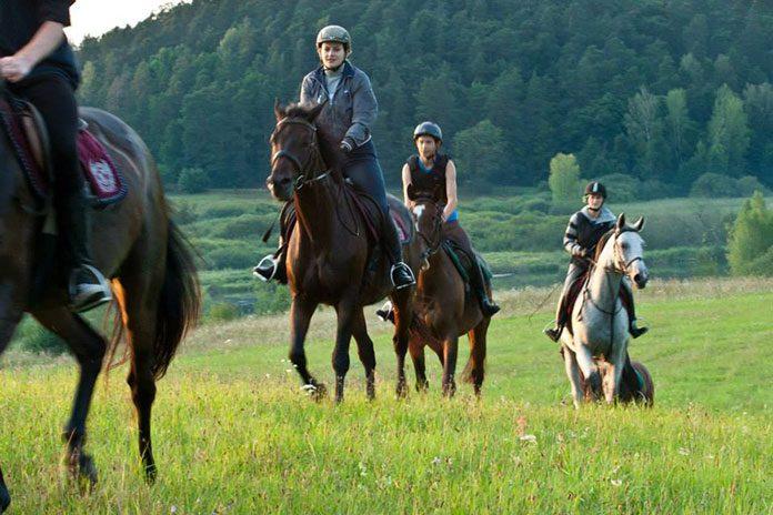 Jazda na koniu jako sposób na relaks