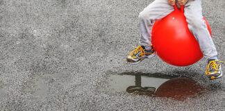 gumowe piłki do skakania dla dzieci